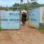 The Water Project: Kinu Friends Secondary School -  School Entrance