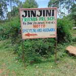 The Water Project: Jinjini Friends Primary School -  Signpost