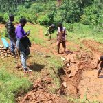 The Water Project: Shisere Community, Richard Okanga Spring -  Site Excavation