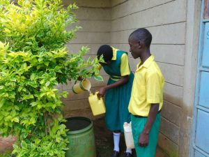 The Water Project:  Students Fetching Water At Home