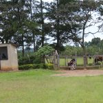 The Water Project: Sawawa Secondary School -  School Gate With Security Officer Post
