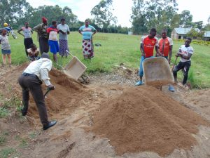 The Water Project:  Students And Community Members Help Deliver Materials
