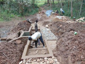 The Water Project:  Stair Construction And Cement Work