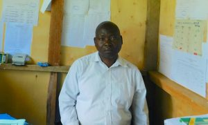 The Water Project:  Deputy Principal Mr Jotham Wanjala