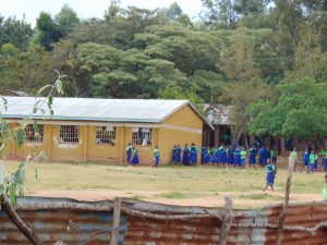 The Water Project:  View From Behind The Classrooms
