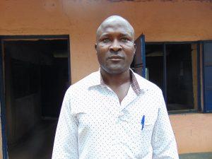 The Water Project:  Teacher Mr Benson Khaguli