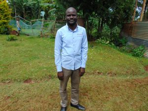 The Water Project:  Teacher Mr Ochieng