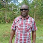 The Water Project: Kinu Friends Secondary School -  Head Teacher Mr Vincent Okoth