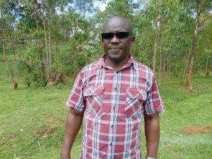 The Water Project:  Head Teacher Mr Vincent Okoth