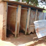 The Water Project: Gidimo Primary School -  Kenya Boys Latrines