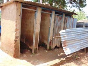 The Water Project:  Kenya Boys Latrines