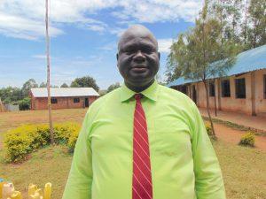 The Water Project:  Head Teacher Mr Fred Ihaji
