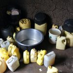 The Water Project: Mukoko Baptist Primary School -  Water Storage Containers In The Kitchen