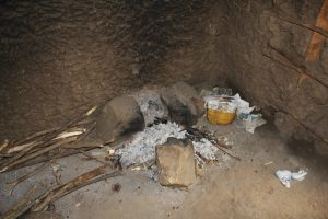 The Water Project:  Cook Stove Inside Kitchen