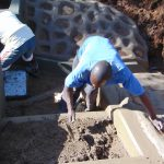 The Water Project: Ebutindi Community, Tondolo Spring -  Stair Construction