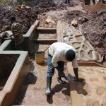 The Water Project: Bumavi Community, Joseph Njajula Spring -  Plaster Work