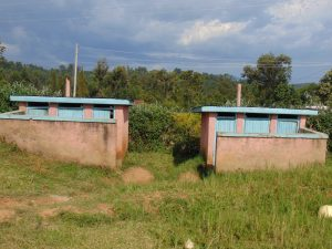 The Water Project:  Girls Latrine Blocks