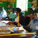 The Water Project: Gamalenga Primary School -  Teachers In Staffroom