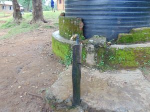 The Water Project:  Broken Tap With Missing Hardware