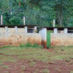 The Water Project: Gamalenga Primary School -  Girls Latrine Block