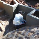 The Water Project: Ebutindi Community, Tondolo Spring -  Tile Fitting