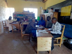 The Water Project:  School Staff At Work In The Staffroom