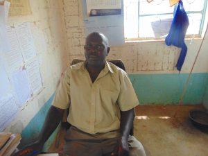 The Water Project:  Deputy Head Teacher Mr Teddy Liabeya