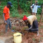 The Water Project: Shisere Community, Richard Okanga Spring -  Grass Planting