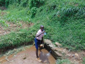 The Water Project:  Drinking Water At The Spring