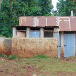 The Water Project: Gamalenga Primary School -  Boys Latrines And Urinal