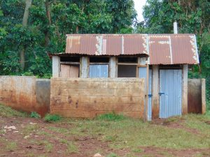 The Water Project:  Boys Latrines And Urinal