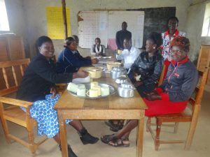The Water Project:  School Staff Taking Lunch In The Staffroom