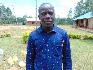 The Water Project:  Deputy Head Teacher Mr Chole Maheli