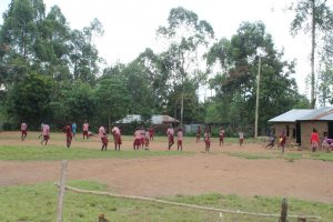 The Water Project:  Pupils Play On The Playground