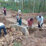 The Water Project: Bumavi Community, Joseph Njajula Spring -  Backfilling