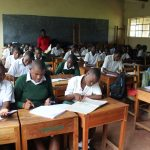 The Water Project: Sawawa Secondary School -  Students In Class