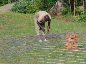 The Water Project:  Preparing The Domes Wire Form