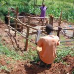 The Water Project: Ebutindi Community, Tondolo Spring -  Fencing