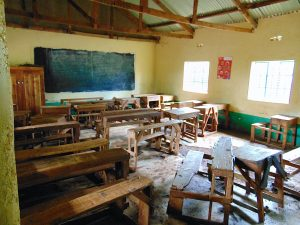 The Water Project:  Classroom While Pupils Take A Break