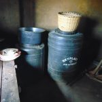 The Water Project: Lwombei Primary School -  Water Storage Drums At School