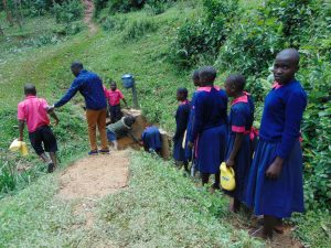 The Water Project:  Pupils In Line For Water