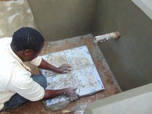 The Water Project:  Tile Setting
