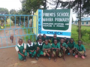 The Water Project:  Students Pose With School Sign