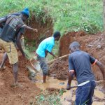 The Water Project: Ebutindi Community, Tondolo Spring -  Site Excavation