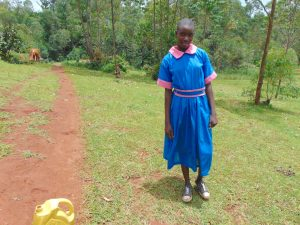 The Water Project:  Kenya Pupil Brenda