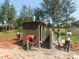 The Water Project:  Latrine Work Continues