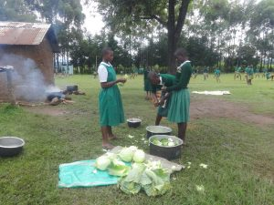 The Water Project:  Students Help Prepare Lunch
