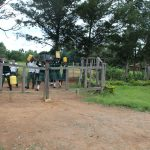 The Water Project: Sawawa Secondary School -  Students Carrying Water Into School