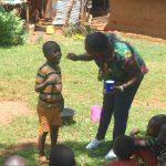 The Water Project: Shisere Community, Richard Okanga Spring -  Toothbrushing Volunteer