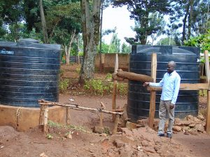The Water Project:  Water Tanks